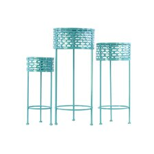 3 Piece Nesting Plant Stand Set
