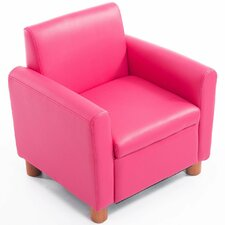 Children's Faux Leather Armchair