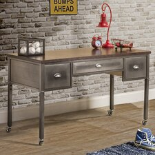 """Albert 52"""" W Writing Desk with Casters"""