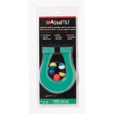 Mini Horseshoe Magnet and 5 Magnet Learning Tool