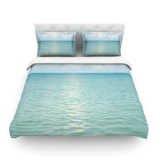 Cloud Reflection by Catherine McDonald Featherweight Duvet Cover