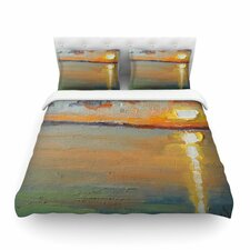 Reflections by Carol Schiff Featherweight Duvet Cover