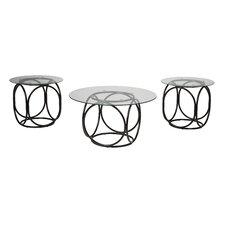 Doppler 3 Piece Coffee Table Set