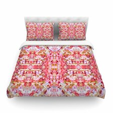 Floral Reflections by Carolyn Greifeld Featherweight Duvet Cover