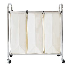 Wayfair Basics 3 Bag Laundry Sorter
