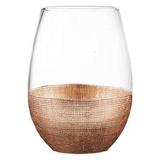 Linen 20 oz. Stemless Glass (Set of 4)