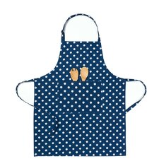 Polka Dot Chef Apron