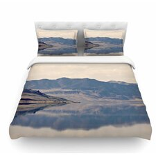 Reflective 2 by Sylvia Coomes Featherweight Duvet Cover