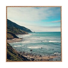 California Pacific Coast Highway Framed Photographic Print