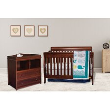 Jaden 3-in-1 Convertible 2 Piece Crib Set