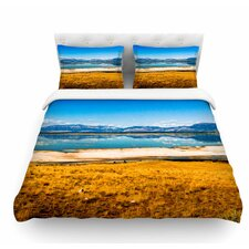 Reflection by Sylvia Coomes Nature Featherweight Duvet Cover