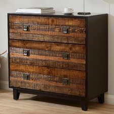 Descoteaux Chattered Wood Accent Chest