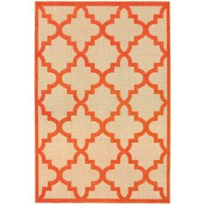 Winchcombe Sand/Orange Outdoor Area Rug
