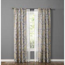 Made4You Paisley Sheer Rod pocket Curtain Panel