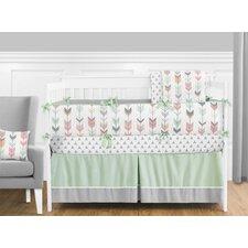 Mod Arrow 9 Piece Crib Bedding Set