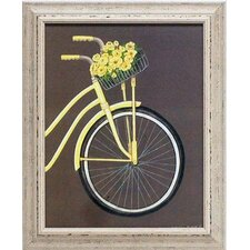 'Bicycle II' by Gwendolyn Babbitt Framed Graphic Art