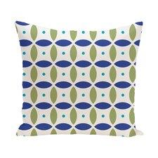 Hal Geometric Print Outdoor Pillow