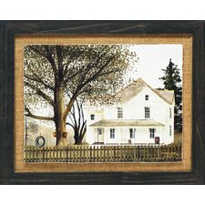 'Grandma's House Primitive Country Farm Landscape' by Billy Jacobs Framed Graphic Art