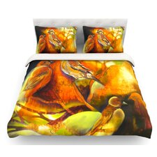 Reflecting Light by Kristin Humphrey Featherweight Duvet Cover