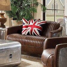 Brancaster Leather Loveseat