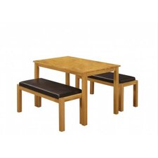 Fenton Dining Table and 2 Benches