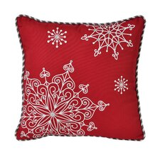 Snowflake Decorative Euro Pillow