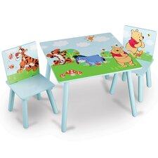 3-tlg. Tisch und Stuhl-Set Winnie the Pooh