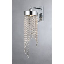 Sarah Crystal 1-Light Armed Sconce