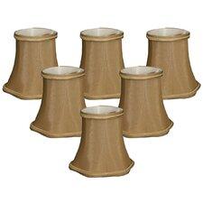 "5"" Shantung Bell Candelabra Shade (Set of 6)"