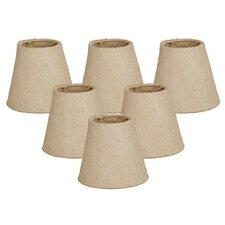 "6"" Linen Empire Candelabra Shade (Set of 6)"