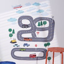 Around Town Interactive Wall Decal