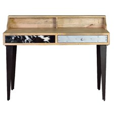 Solana Beach Writing Desk with Hutch