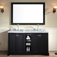 """Westwood 61"""" Double Bathroom Vanity Set"""
