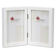 quick view gallery hinged double picture frame