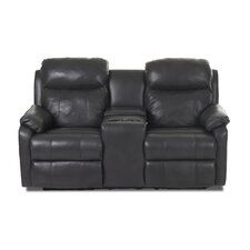 Torrance Reclining Loveseat with Headrest and Lumbar Support