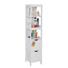 Ashmore 30cm x 142.5cm Freestanding Tall Bathroom Cabinet