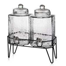 Peony 3 Piece Beverage Dispenser Set