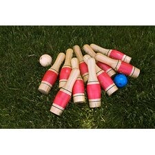 Sterling Sports Deluxe Lawn Bowling/Skittles Set