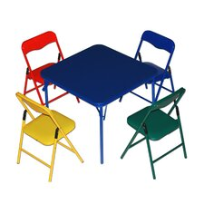 Jovany Children's 5 Piece Square Table and Chair Set