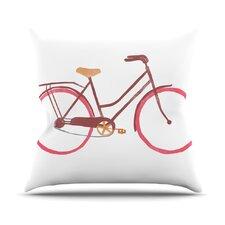 Bike Alik Arzoumanian Throw Pillow