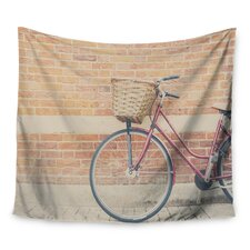 A Bicycle by Laura Evans Wall Tapestry
