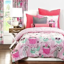 Night Owl Comforter Set