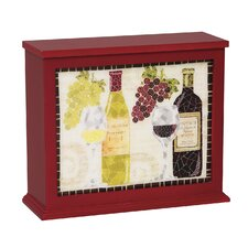 Wine Mosaic Decorative Box