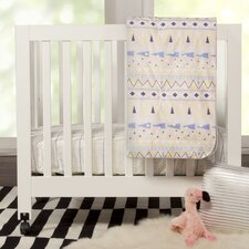 Desert Dreams Mini 4 Piece Crib Bedding Set