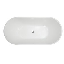 "67.5"" x 32"" Freestanding Soaking Bathtub"