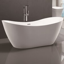 "71"" x 31.5"" Freestanding Soaking Bathtub"