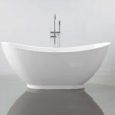 "69"" x 32"" Freestanding Soaking Bathtub"