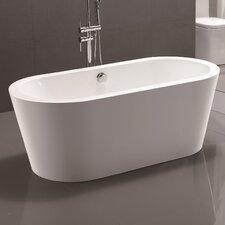 "67.7"" x 32.3"" Freestanding Soaking Bathtub"
