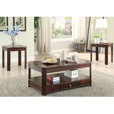 Somerset 3 Piece Coffee Table Set