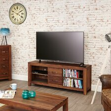 Mayan Walnut TV Stand for TVs up to 72""